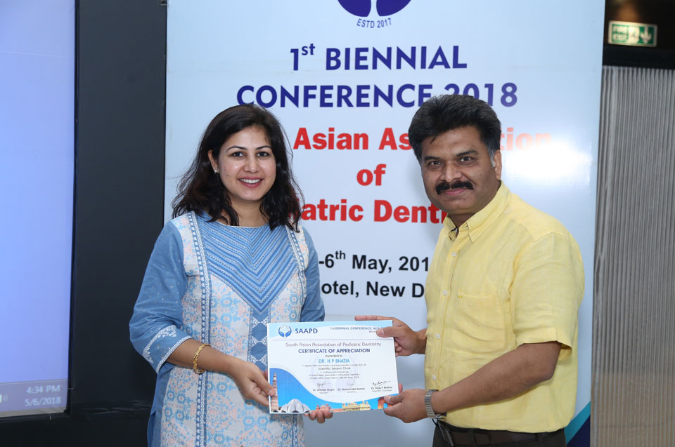 1st BIENNIAL CONFERENCE 2018 - South Asian Association of Pediatric